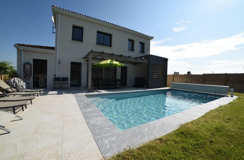 Luxury Coastal Villas with private pool, Royan – 4 bed €354,000