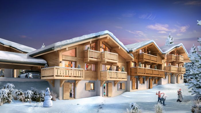 Mountain property in Samoëns, French Alps – from €246,250