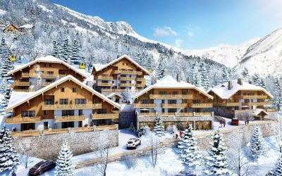 Studios to 3 bed apartments in Vaujany, French Alps – Les Edelweiss from €157,000