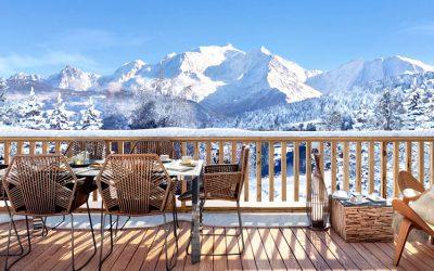 Les fermes du Mont Blanc, Combloux, French Alps – studios to Chalets