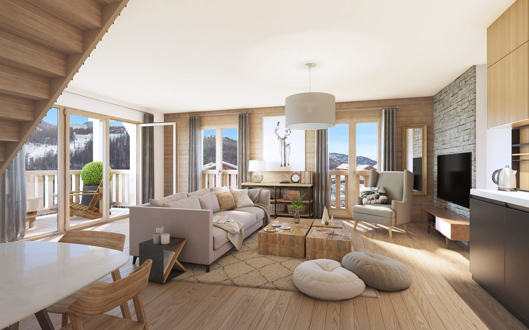 New luxury development in Serre-Chevalier – Cristal Lodge – Studios from €176,000
