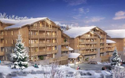 La Plagne Montalbert – New exclusive development Le Snoroc – 2 to 4 bed available from €240,000.