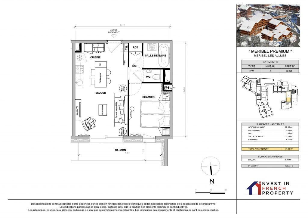 Plan-Meribel-LotB205-1bed