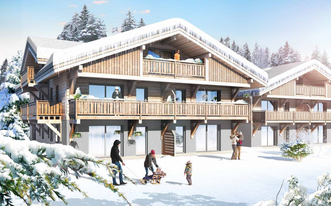 Les 3 Sophie, boutique residence in Morzine – studio to 3 bed apartments from €119,000.