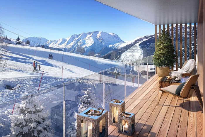 Alpe d'Huez, White Peak Lodge – 2 to 5 bedroom apartments. From €315,000.