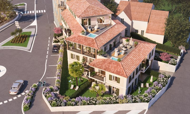 Villa Massimo, unique boutique residence in Sainte-Maxime – from €230,000.