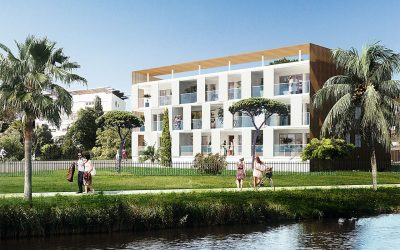 Only 1 – 3 bed apartment in small new residence near the beach in Sete – €393,750.