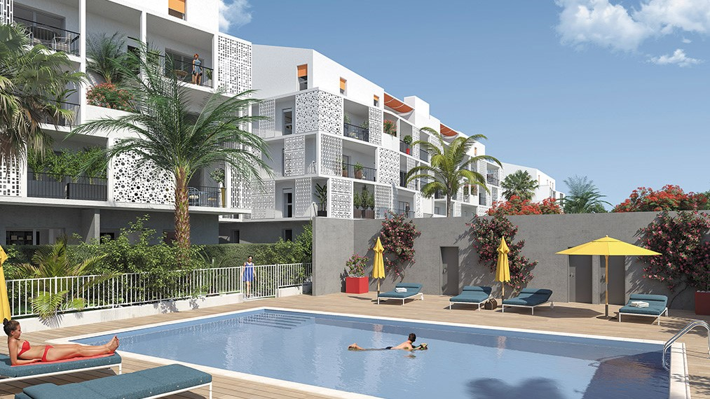 Between nature and culture, Palma Bianca in Cannes-la-Bocca – from €159,000.