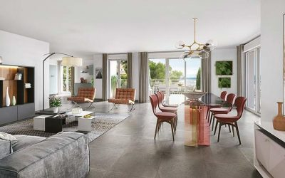Secure luxury residence on the height of Cannes, Le Cannet.