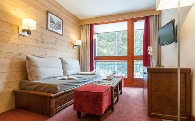 Les Arcs 1800 – 1 bed apartment in ski-in/out popular residence – €135,000.