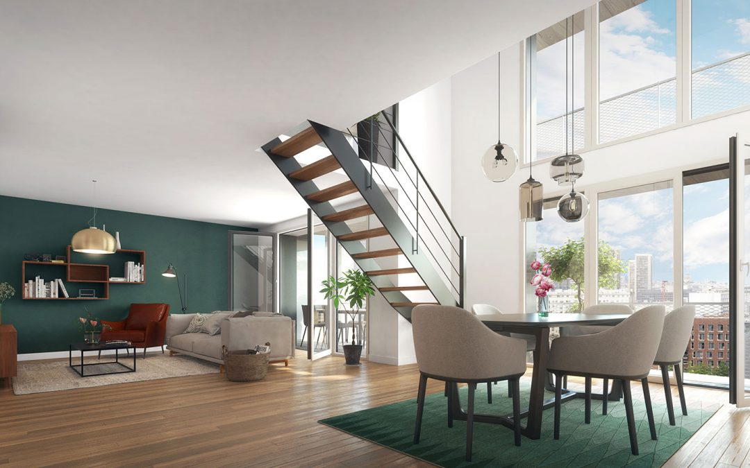 New G, an innovative eco-designed development in Paris 13th from €321,700