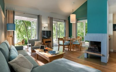 Centre Parcs – delightful cottages in tranquil lake setting 2h from Paris.