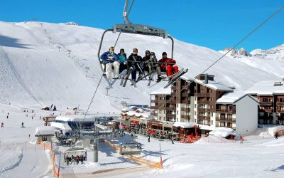 Only 1 – Studio ski apartment with balcony in Tignes – €92,900.
