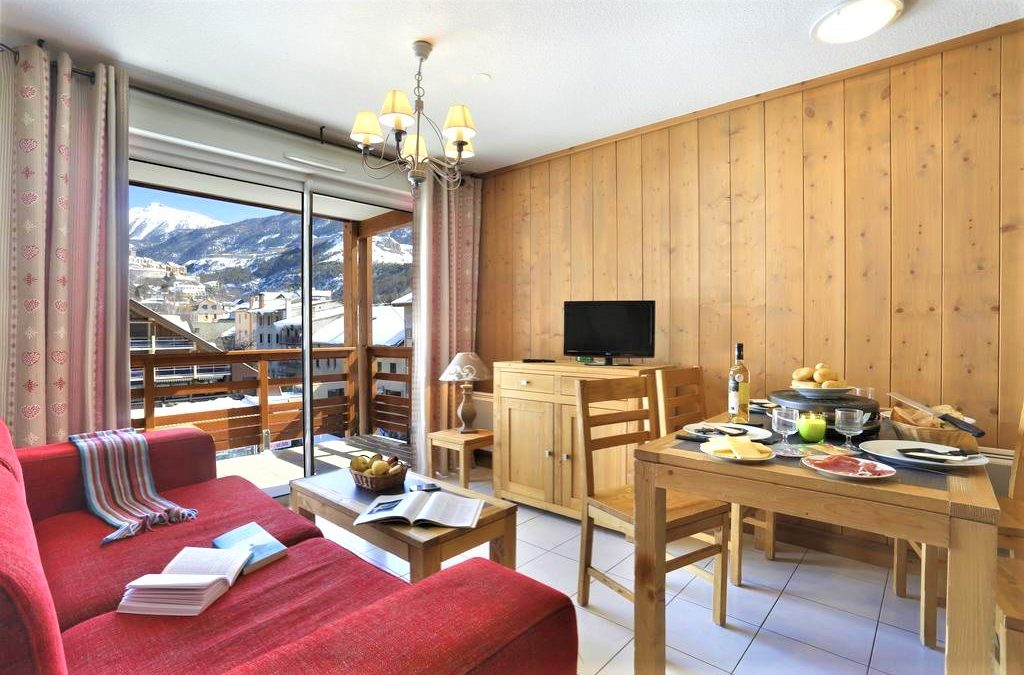 Serre Chevalier 1200 – Briancon, 3 bed apartment in well located residence – €236,509.