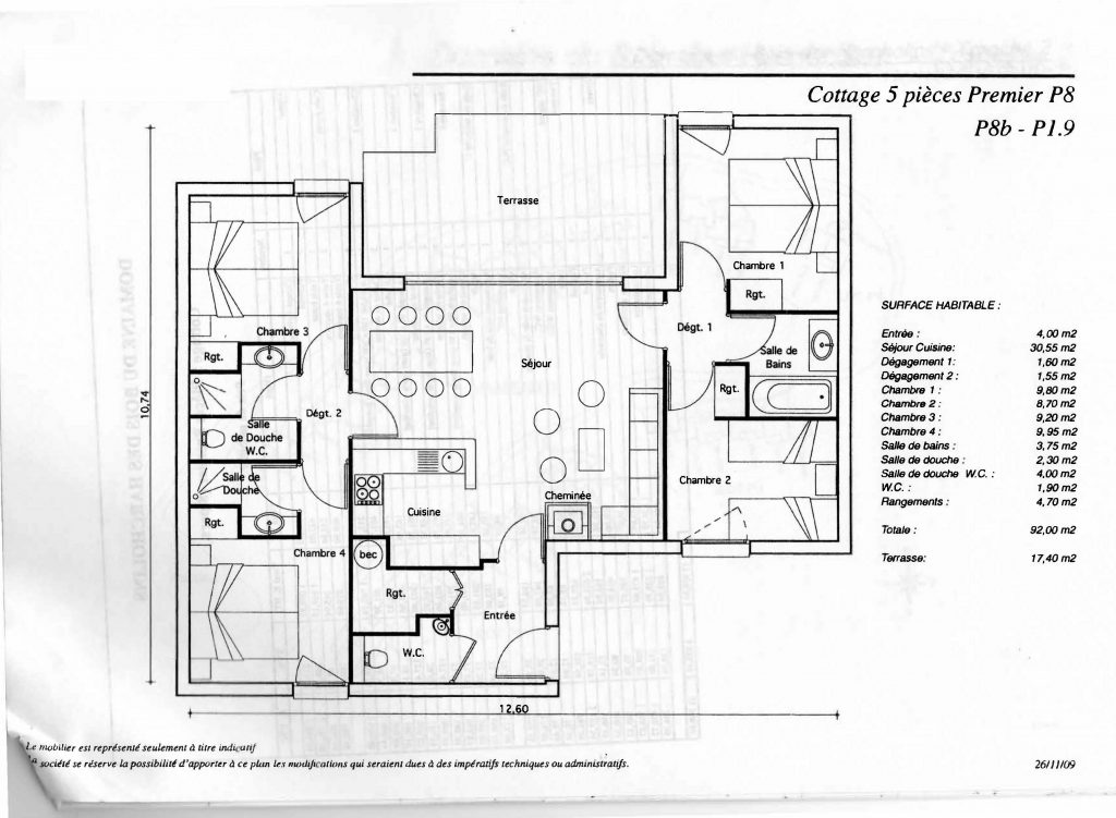 Plan Cottage 1.9