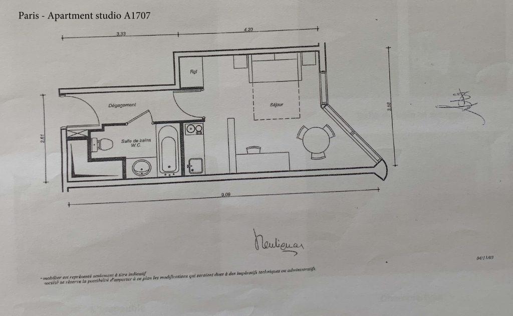 Plan A1707