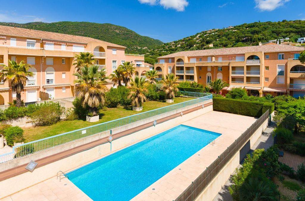 Cavalaire-sur-mer, idyllic Mediterranean location between Lavandou and St Tropez.