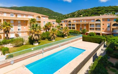 Cavalaire-sur-mer, idyllic Mediterranean location between Lavandou and St Tropez.