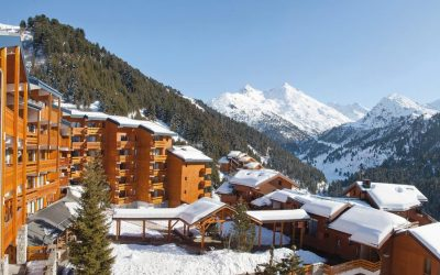 Meribel-Mottaret, picturesque resort in the heart of the 3 Valleys ski domain.