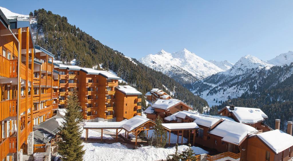 Meribel-Mottaret, picturesque resort in the heart of the 3 Valleys ski domain.