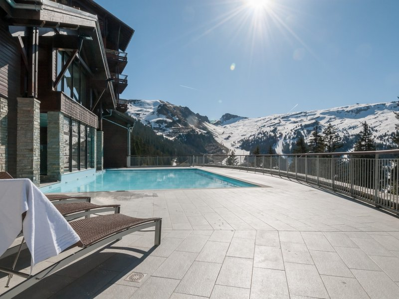 Luxury residence in Flaine, modern resort part of the Grand Massif ski area.