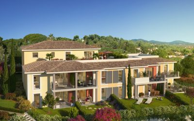 Between vineyards, port and history – a new address in Cogolin, Golfe de St Tropez.