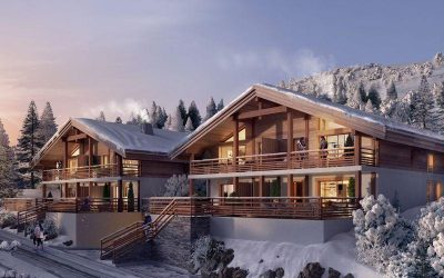 New intimate chalet residence in friendly village resort of Les Saisies.