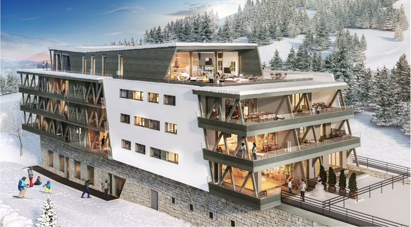 Le Quartz – New premium development in Peisey-Vallandry, the heart of Paradiski.