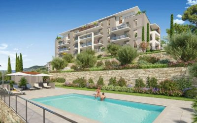 Final Units – Grasse, south of France – new secluded development with pool.