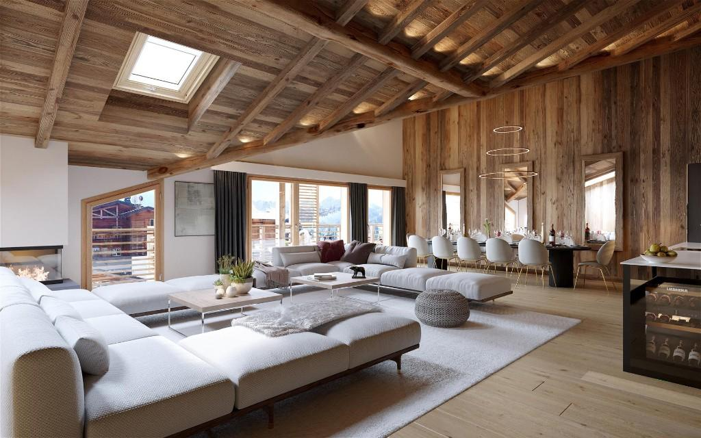 New real estate program in the very heart of Les Gets resort, Portes du Soleil.