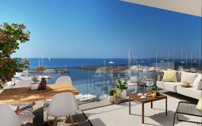 New development with exceptional location on the shores of Thau Lagoon, Marseillan.