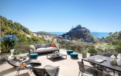 Final units – Rare opportunity of a new development in Eze, French Riviera.