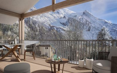 An exceptional new residence in iconic ski resort Chamonix.