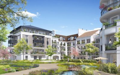 Le Blanc-Mesnil, new real estate project designed like a village – 7km from Paris.