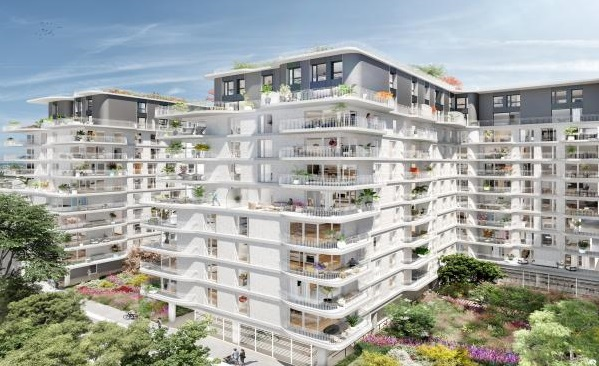 Clichy – Paris. Exquisite new development of luxury apartments.