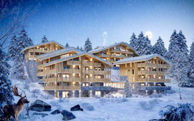 Prestigious new ski apartment program in Chatel, Portes du Soleil.