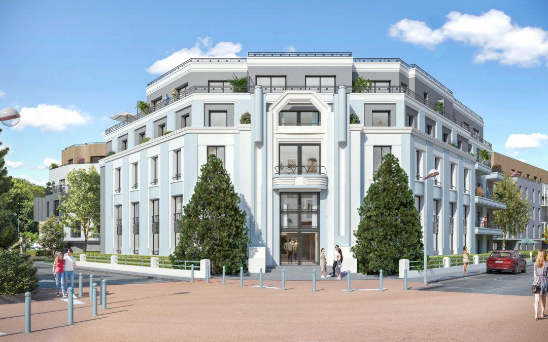 Exquisite Art Deco style development in Chambery.