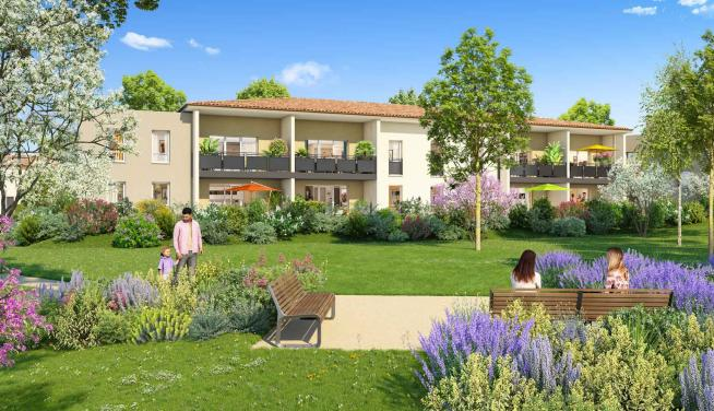 New residence with true Provencal charm in the heart of Puyricard, Aix-en-Provence.