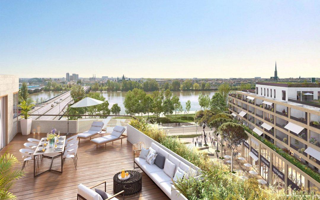 Prestigious new residence in Bordeaux city centre.