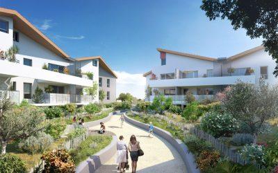 Marseillan, fabulous new development bordering Thau Lagoon and the sea.