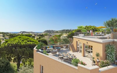 Cavalaire-sur-mer, Provencal style new build residence in strategic location.