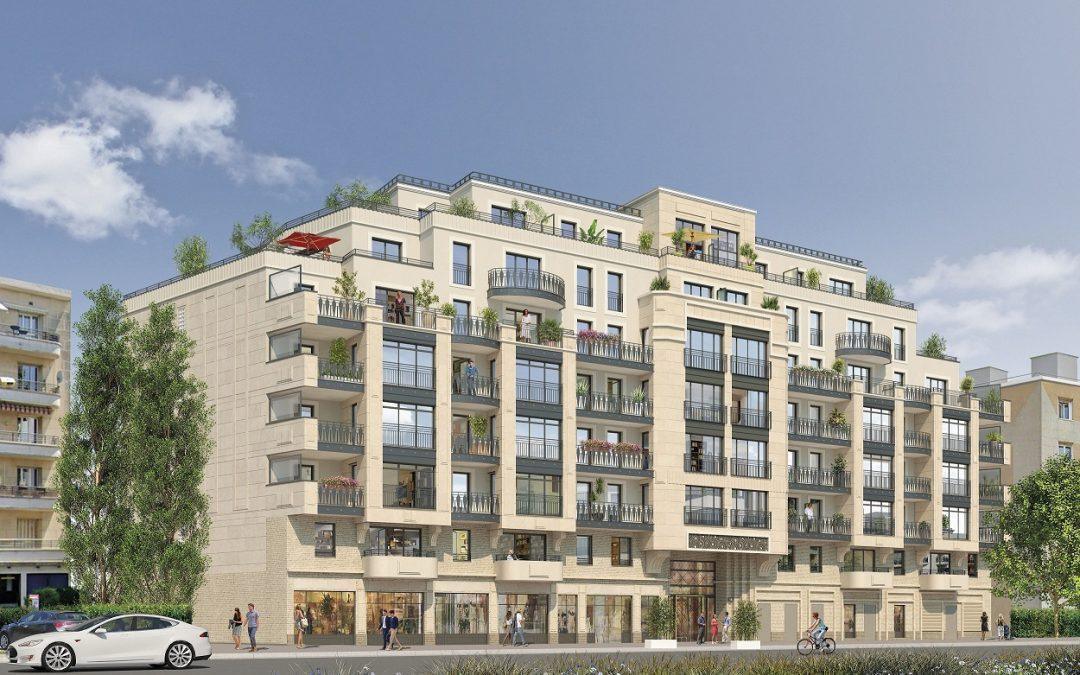 Thiais – Elegant new development in strategic location south of Paris.