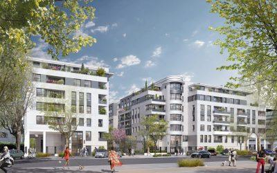 New elegant Art Deco style development at the gates of Paris, Maisons-Alfort.