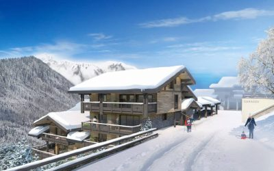 Exclusive boutique new development with incredible views, Chatel.